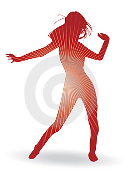 A Dancing Woman Stock Photography - Image: 19807292