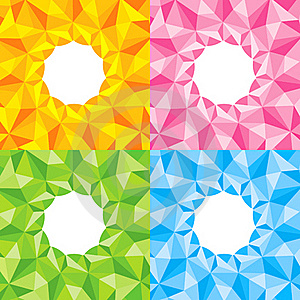 Four Bright Abstract Background Royalty Free Stock Photo - Image: 19807865