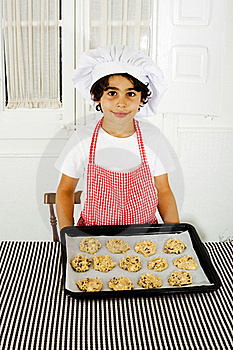 Little Cook Royalty Free Stock Photography - Image: 19808457