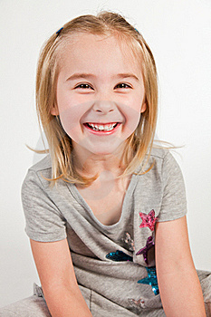 Pretty Smiling Girl. Royalty Free Stock Photos - Image: 19809998