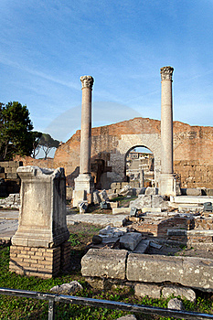 Roman Forum Royalty Free Stock Photography - Image: 19814897