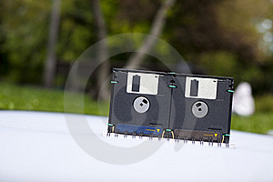 Floppy Disk Box Stock Images - Image: 19814964
