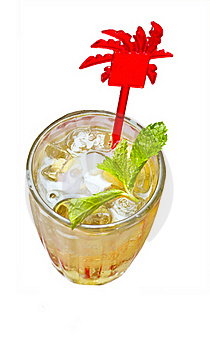 Isolation Photo Of Fresh Drink Royalty Free Stock Photography - Image: 19822847