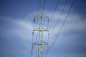 High Tension. Stock Photography - Image: 19826872