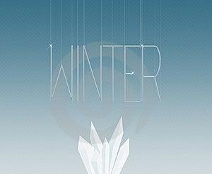 Winter Design Stock Photography - Image: 19827052