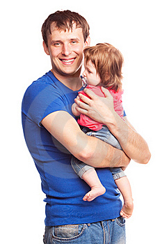 Father And Daughter Royalty Free Stock Photography - Image: 19832307
