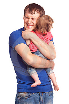 Father And Daughter Royalty Free Stock Photography - Image: 19832317