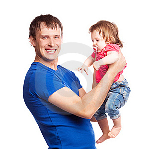 Father And Daughter Royalty Free Stock Photo - Image: 19832325