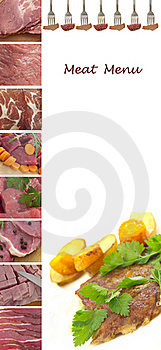 Meat Menu Stock Images - Image: 19832644