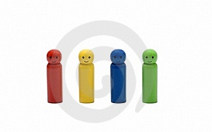 Wooden Little Man Royalty Free Stock Image - Image: 19833846