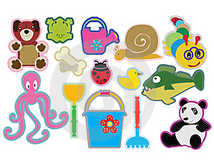 Illustrations For Kids Royalty Free Stock Images - Image: 19836029