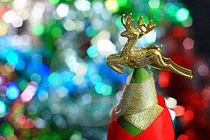 Golden Deer Stock Photo - Image: 19836040