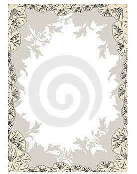 Flower Frame Stock Images - Image: 19836044