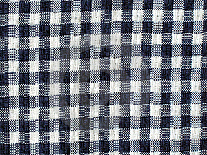 Blue Checkered Fabric Royalty Free Stock Images - Image: 19837769