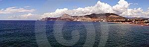 Panorama Of Sudak. Black Sea Royalty Free Stock Photography - Image: 19840657