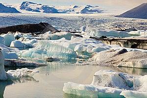 Jokulsarlon, Beauty Ice Lagoon In Iceland Stock Photography - Image: 19841132