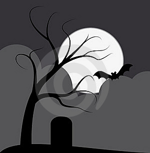Dark Tree Stock Photo - Image: 19841200