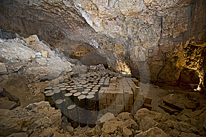Dry Caverns Royalty Free Stock Image - Image: 19842786