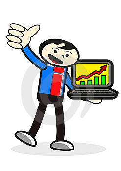 Cartoon Presentation Stock Photography - Image: 19843302