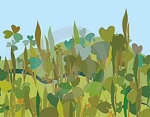 Grass Seamless Pattern Stock Photo - Image: 19844190