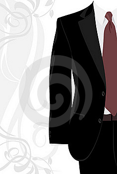 Masculine Suit On The Decorative Background Royalty Free Stock Photography - Image: 19844837