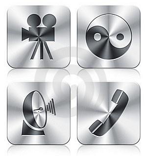 Icons Royalty Free Stock Images - Image: 19845519
