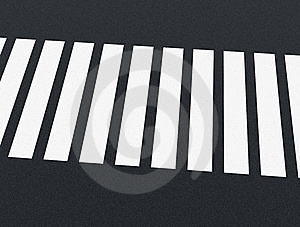 Road Markings - Crossing Royalty Free Stock Photography - Image: 19847057