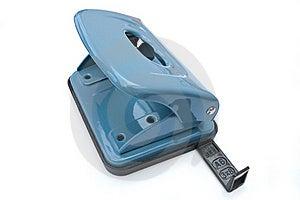 Blue Hole Puncher Stock Photo - Image: 19848120