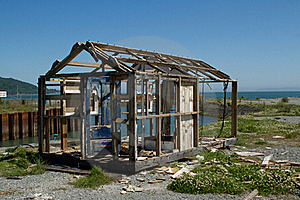 Derelict Hut. Royalty Free Stock Photo - Image: 19851075