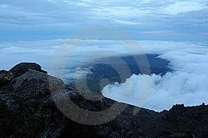 Pico Mountain Top Stock Photo - Image: 19852100