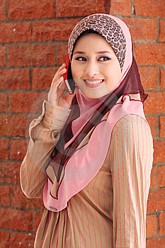 Islamic Girl Royalty Free Stock Photography - Image: 19854627