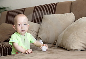 Little Baby Dreamer Stock Photos - Image: 19855603