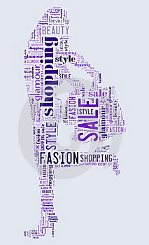 Tagcloud On Consumerism Stock Photos - Image: 19856953