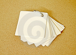 Small Notepaper Stock Image - Image: 19871921