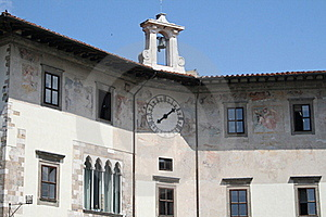 Palazzo Dell´Orologio. Clock´s Palace Royalty Free Stock Images - Image: 19871939