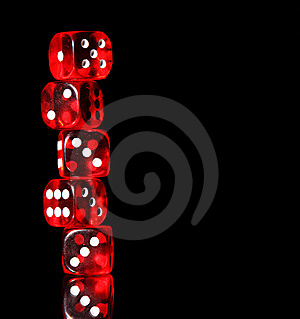 Dices Royalty Free Stock Images - Image: 19872189