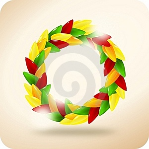 Paprika Wreath Royalty Free Stock Photography - Image: 19872567