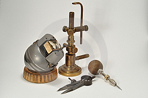 A Set Of Jewelry Tools Royalty Free Stock Photos - Image: 19875638