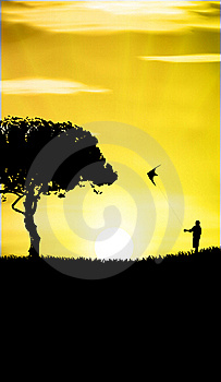Kite Stock Image - Image: 19879951