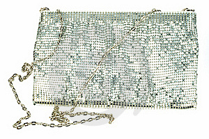 Silver Clutch Stock Images - Image: 19880884
