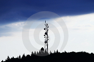 Antena Over Sunset Royalty Free Stock Photos - Image: 19884998