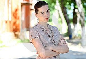 Summer Portrait Stock Images - Image: 19886244