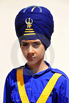 Indian Sikh Boy Stock Images - Image: 19886734