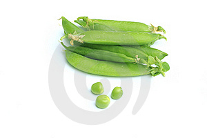 Pea Pods Stock Image - Image: 19887131