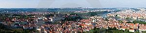 Panoramic View Of Prague Stock Photos - Image: 19888183