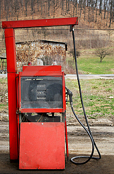 Old Gas Pump Royalty Free Stock Photo - Image: 19888765