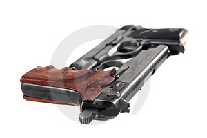 Two Pistols Royalty Free Stock Photography - Image: 1990397