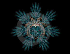 Exotic Heart Abstract Stock Photo - Image: 1991520