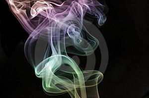 Rising Pastel Smoke