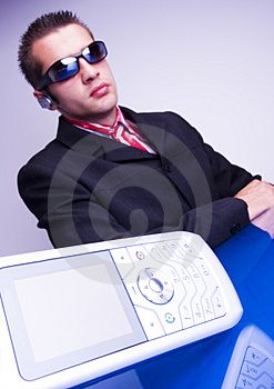Business Man Stock Photo - Image: 1998320